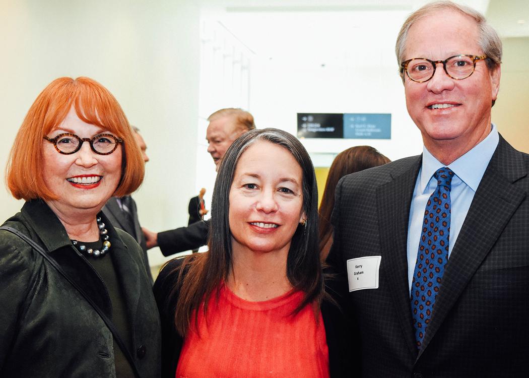 Jerry Williams, Ellen Lehman, Kerry Graham