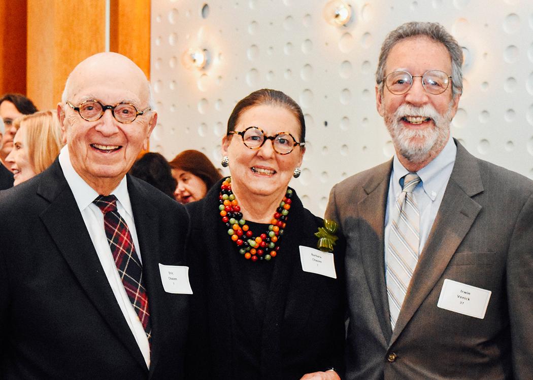Dr. Eric Chazen, Barbara Chazen, Irwin Venick