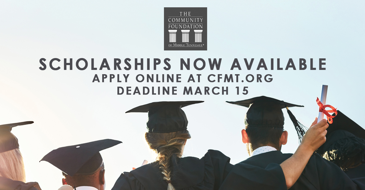 Scholarships - The Community Foundation of Middle Tennessee