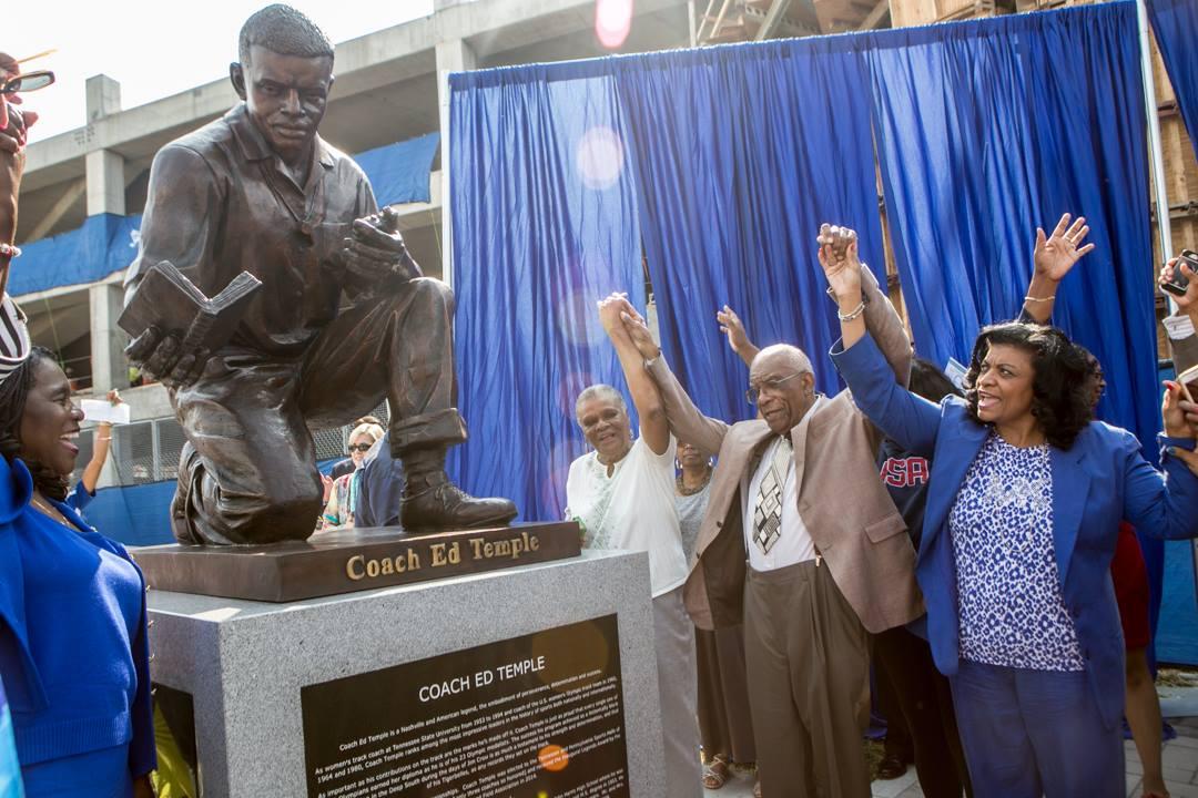 Ed Temple Statue Reveal