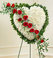 Cross, Wreaths and Hearts