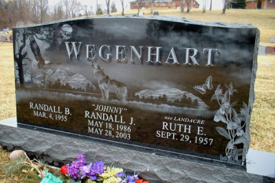 Laser Etched Memorials