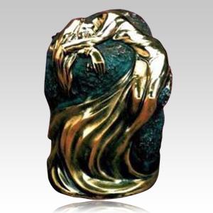 Sculpted & Cast Bronze Urns