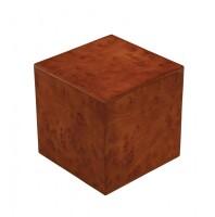 Burlwood Cube