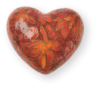 Autumn Keepsake Heart