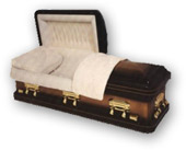 Solid Copper Caskets