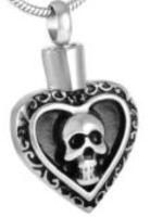 039: Heart and Skull