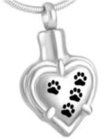 044: Heart w/ Paw Prints