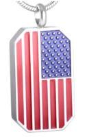 118: Flag Pendant