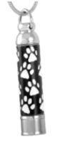 126: Paw print cylinder