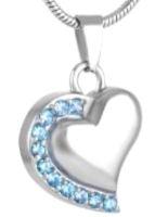 131: Heart w/ blue stones