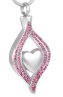 141: Pink Nestling Heart