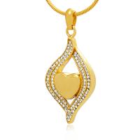 142: Gold Nestling Heart