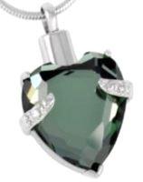 163: Green Stone Heart