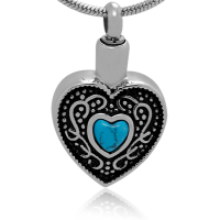 164: Turquoise Heart