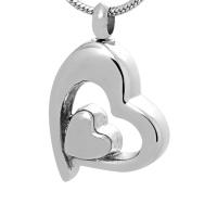 174: Silver heart in heart
