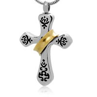 234: Cross with Gold Sash