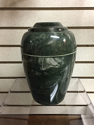 Grecian Marble Composite Urn
