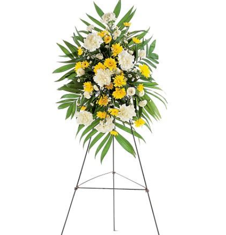 Yellow and White Sympathy Easel
