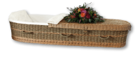 Seagrass Casket/Wicker