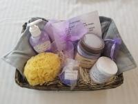 Lavender Comfort Basket
