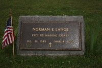 24' x 12' Veterans Bronze Marker on a slant base