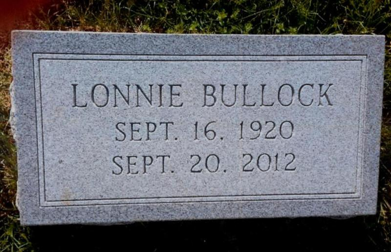The Monument of Lonnie Bullock