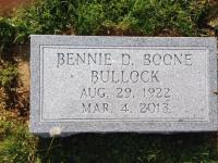 The Monument of Bennie D. Boone Bullock