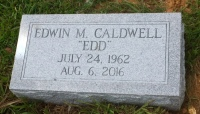 The Monument of Edwin Edd M. Caldwell