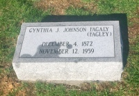 The Monment of Cynthia J. Johnson Fagaly (Fagley)