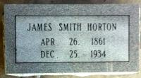 The Monument of James Smith Horton