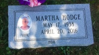 The Monument of Martha Hodge