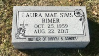 The Monument of Laura Mae Sims Rimer