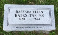 The Monument of Barbara Ellen Bates Tarter