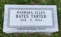 The Monument of Barbara Ellen Bates Tarter