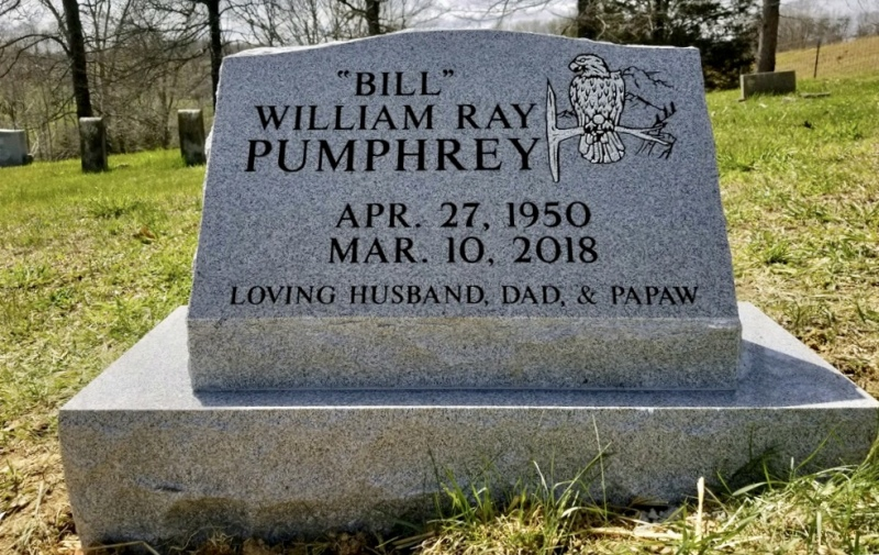The Monument of William Ray (Bill) Pumphrey