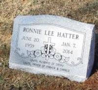 The Monument of Ronnie Lee Hatter
