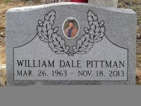 The Monument of William Dale Pittman