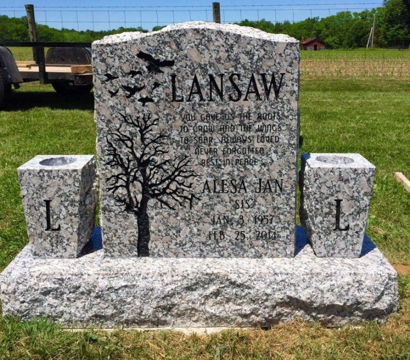 The Monument of Alesa Jan Lansaw
