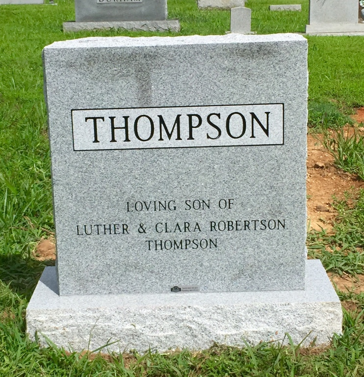 The Monument of Gary Hurston Thompson
