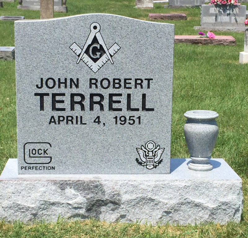 The Monument of John Robert Terrell
