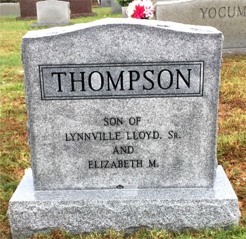The Monument of Lynnville Lloyd Thompson, Jr.
