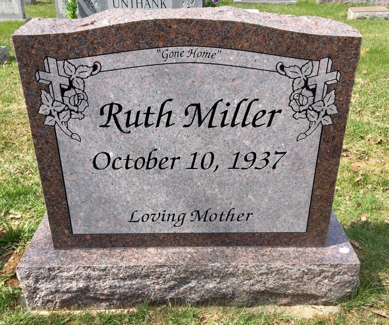 The Monument of Ruth Miller