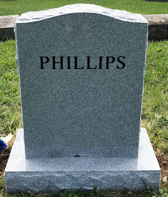 The Monument of Phillip Wayne Phillips