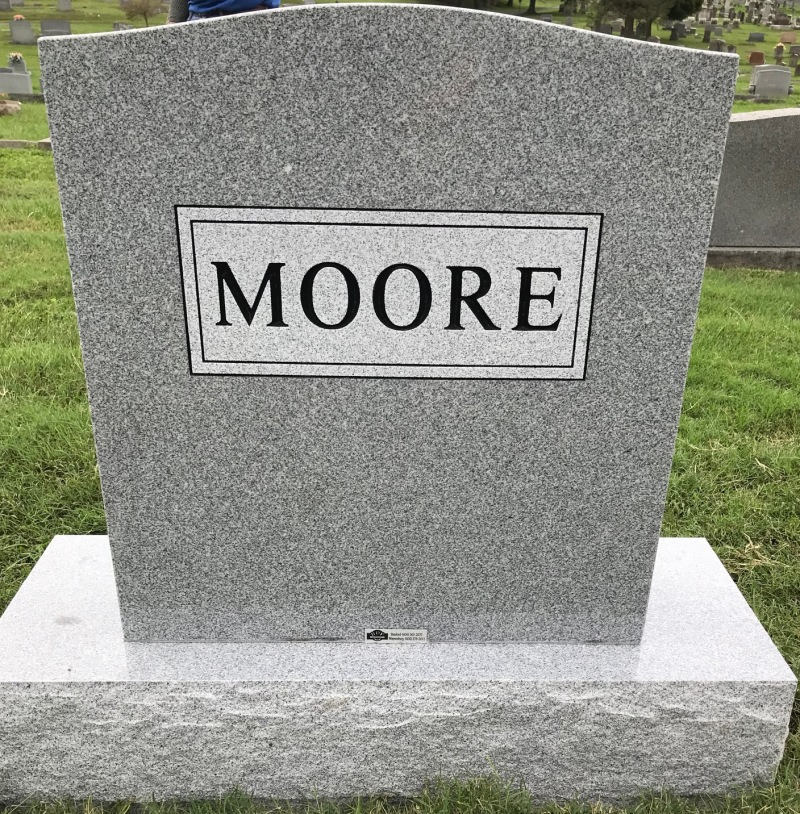 The Monument of Gene Walter Moore