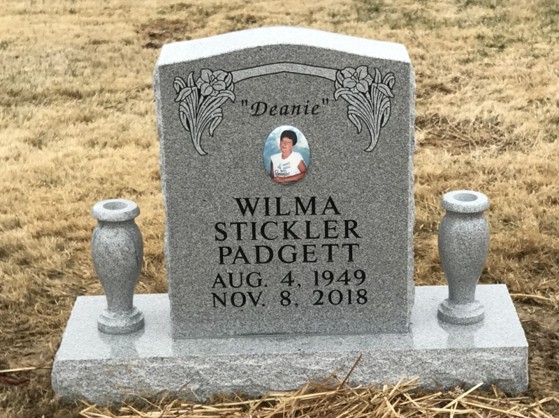 The Monument of Wilma Stickler Padgett