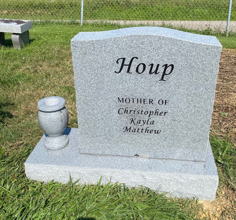 The Monument of Hope Smith Houp