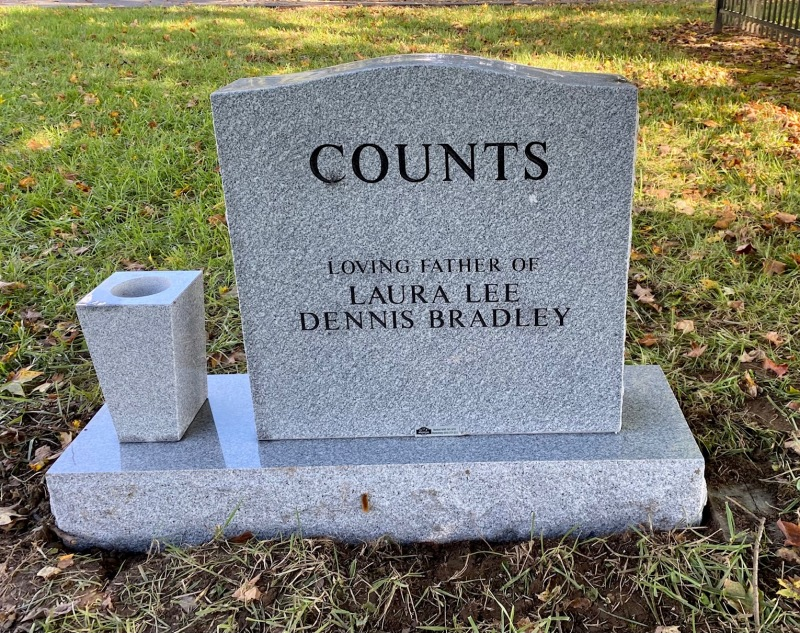 The Monument of Dennis Lee Counts