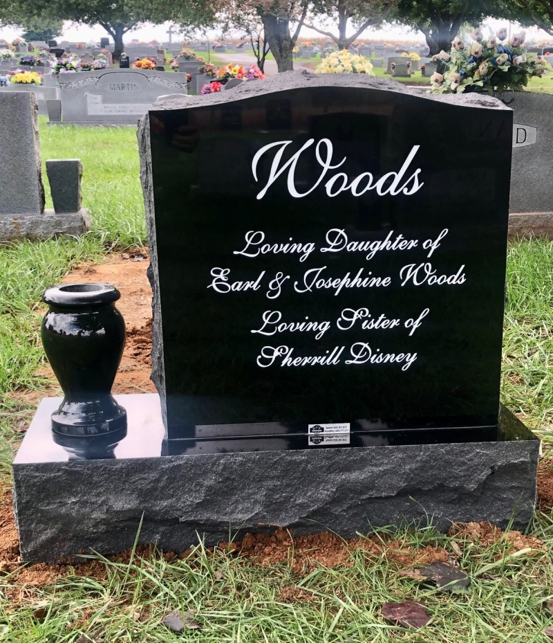 The Monument of Sharon Lynne Woods