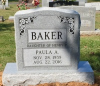The Monument of Paula A. Baker